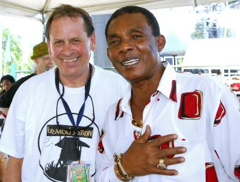 Warren Smith and Ken Boothe at SNWMF